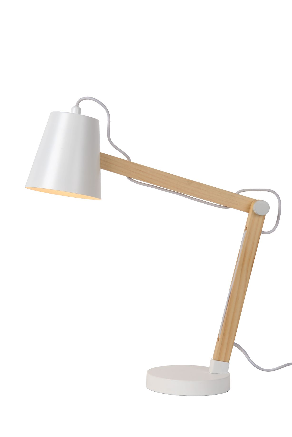 TONY Desk lamp E14 L41 W14 H69cm White