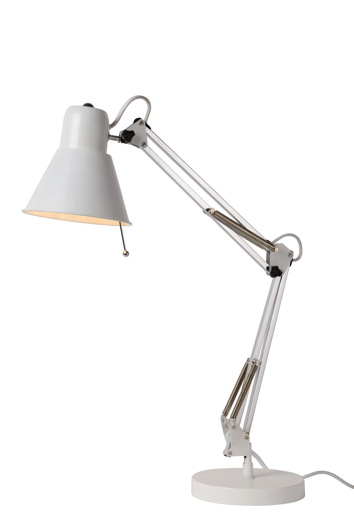 TERRA Desk lamp E27 L55 W18 H60cm White