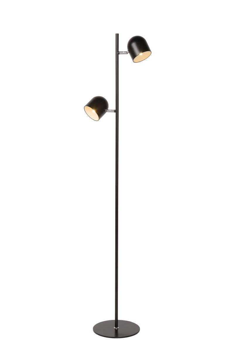 SKANSKA-LED Floor lamp 2x4W H140cm Black