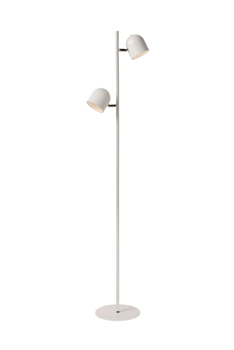 SKANSKA-LED Floor lamp 2x4W H140cm White