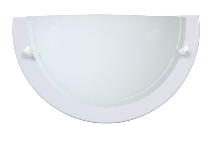 Wall lamp 1xE27/60W opal glass White (07204/01/31)