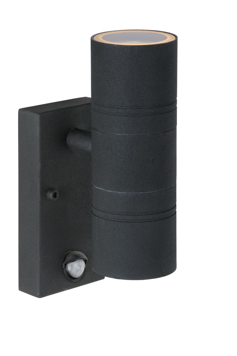 ARNE-LED Wall Light +IR 2xGU10/5W Black (14866/10/30)