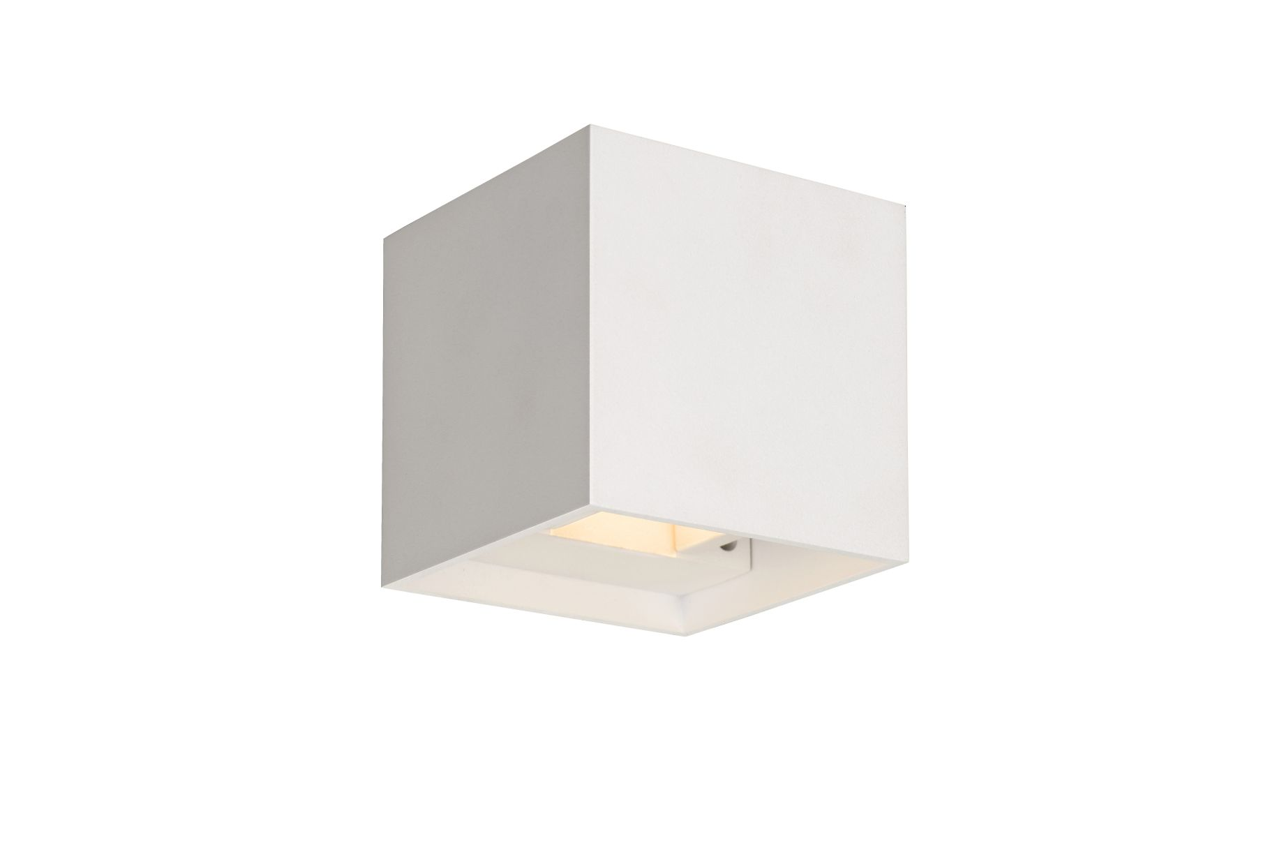 XIA Wall Light IP54 LED 2W 8/8/8cm White (17293/02/31)