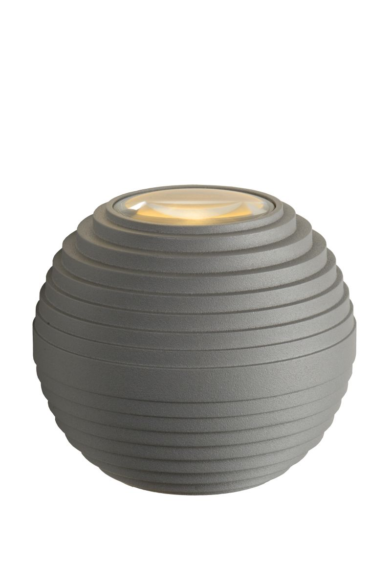 AYO Wall Light LED 2x3W IP54 Grey (17804/06/36)