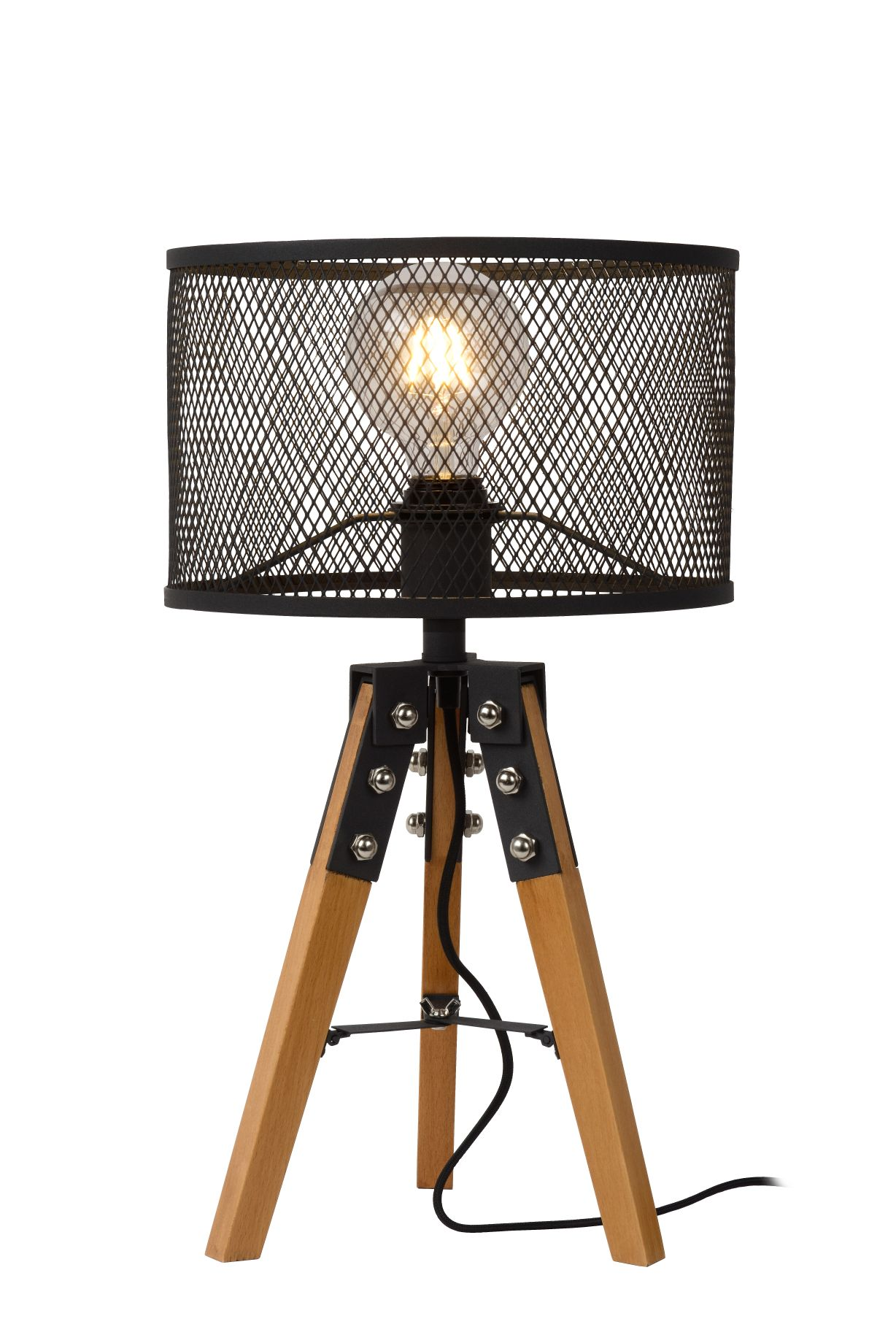 ALDGATE Table Lamp E27 H51cm Black