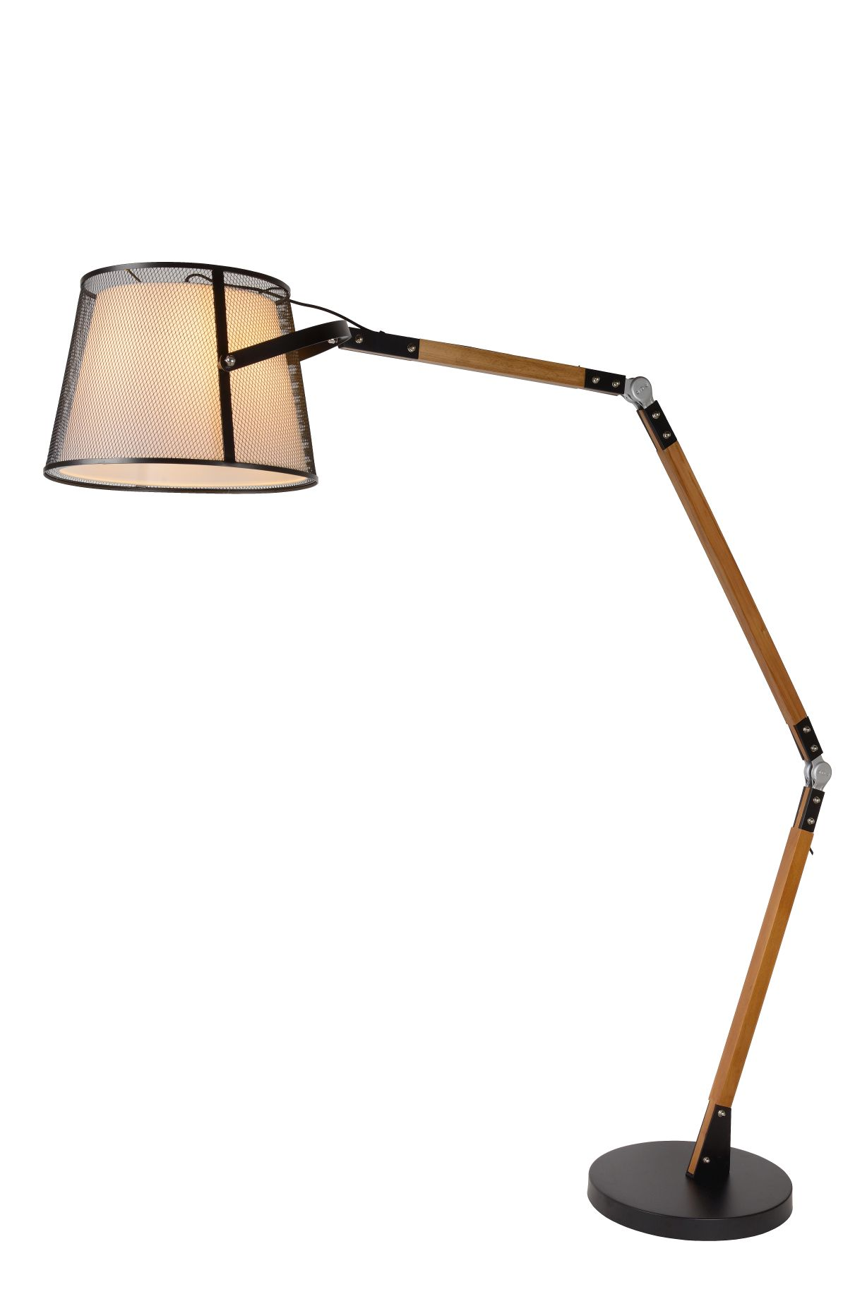 ALDGATE Floor Lamp E27 H195cm Black