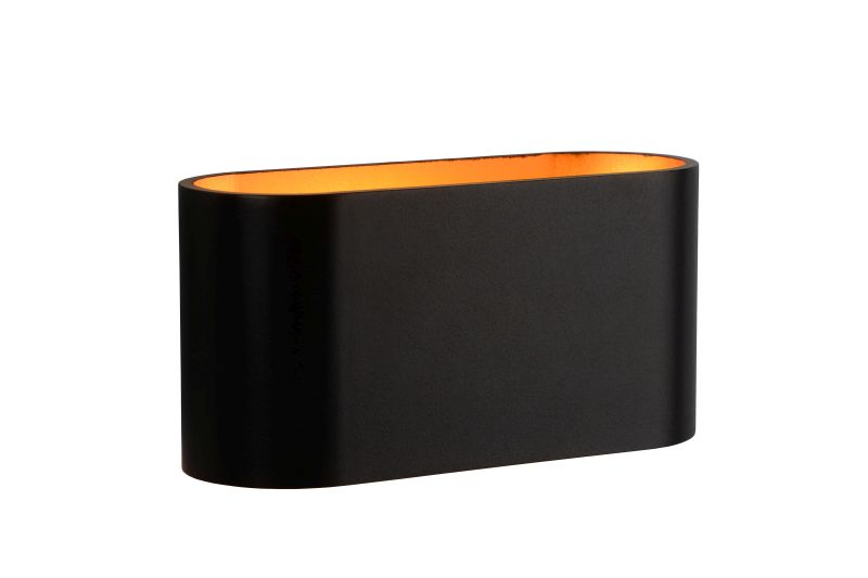 XERA Wall light 1xG9 H8 W8 L16 cm Gold/Black (23254/01/30)
