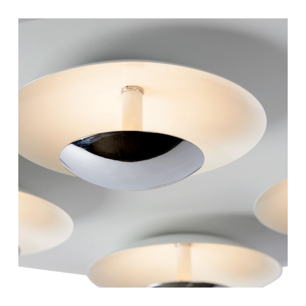 AMINE Ceiling Light LED 5x5W 35/35cm White