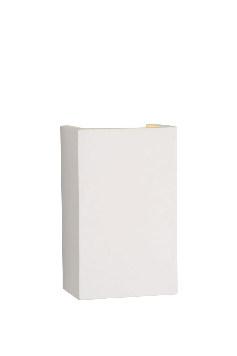 GIPSY Wall Light Square G9 18/11/7cm Whi (35201/18/31)