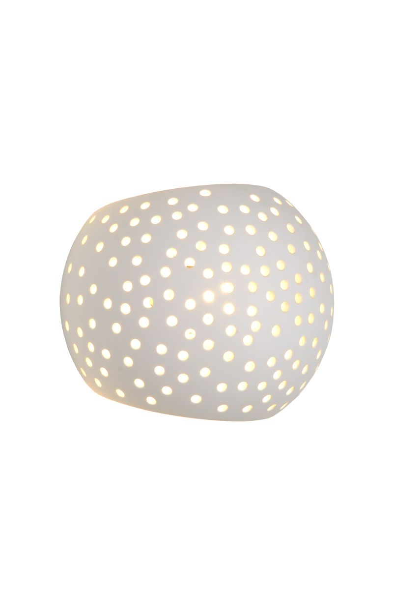 GIPSY Wall Light Round G9 15/12/11cm Whi (35203/13/31)