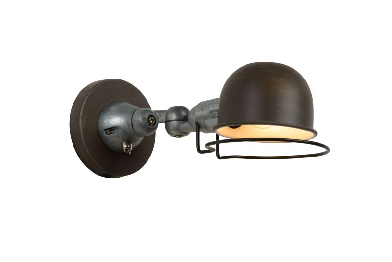 HONORE Wandlicht E14 H11.5cm Roest Bruin (45252/01/97)
