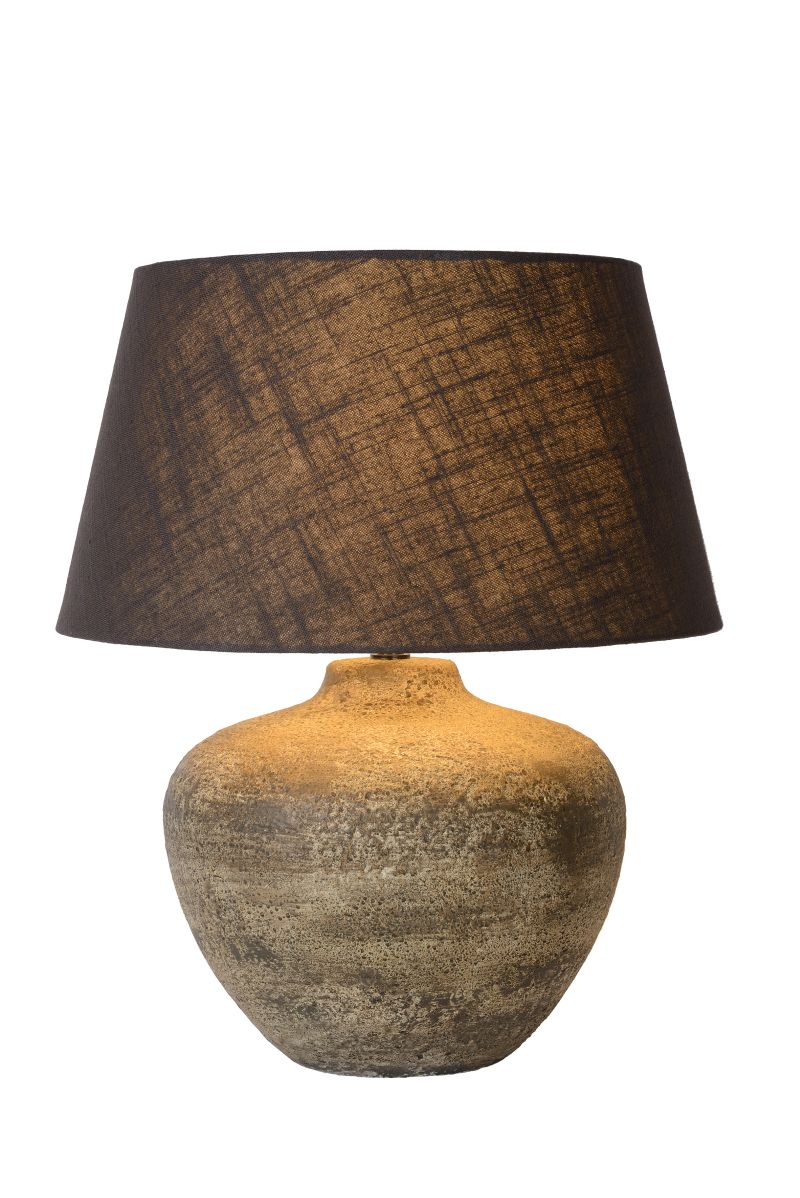RAMSES Table Lamp E27 H48cm Rust Brown