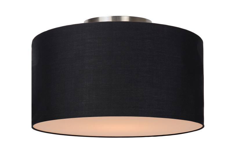 CORAL Ceiling Light E27 D35 H20cm Black (61113/35/30)