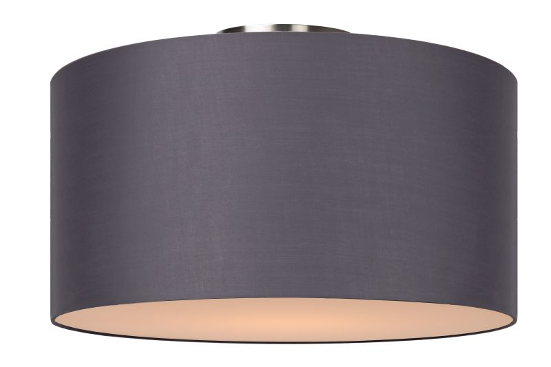 CORAL Ceiling Light E27 D45 H25cm Grey (61113/45/36)