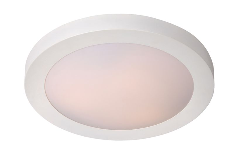 FRESH Ceiling Light IP44 2xE27 D35cm Whi